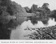 Russian River at Vichy Springs